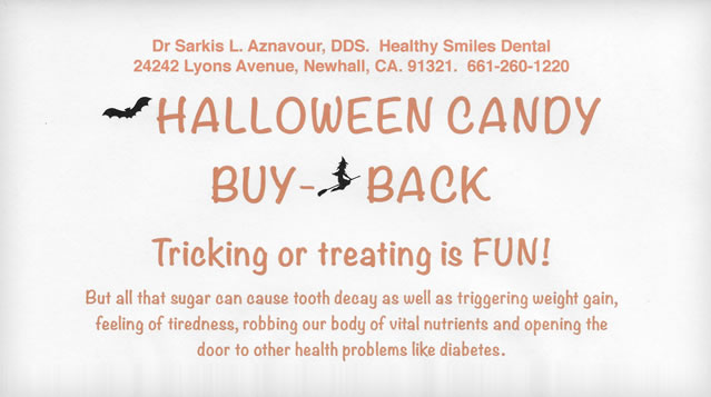 2016 Holloween Candy Buy Back!